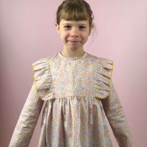 blouse cecile liberty wiltshire bud aurore porté